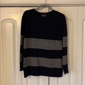 Banana Republic Italian Yarn Striped Sweater